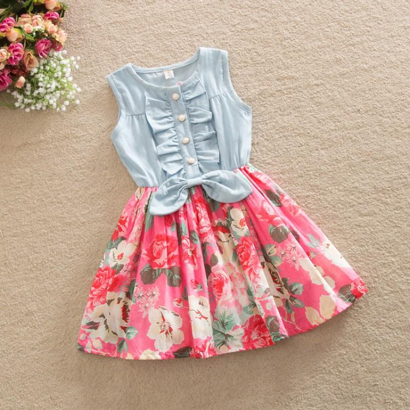 فستان من قطعة واحدة قطن