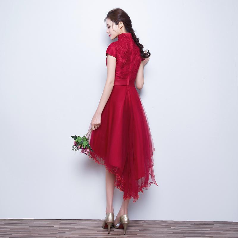 اللون الكاكي فستان حفل وسهره